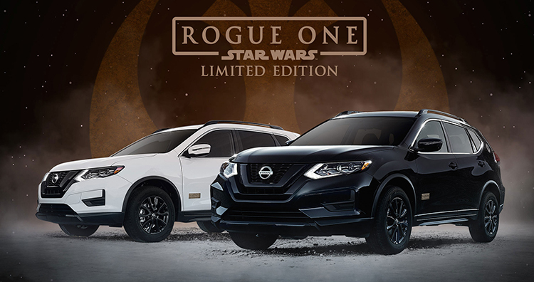 Star Wars Limited Edition Nissan Rogue